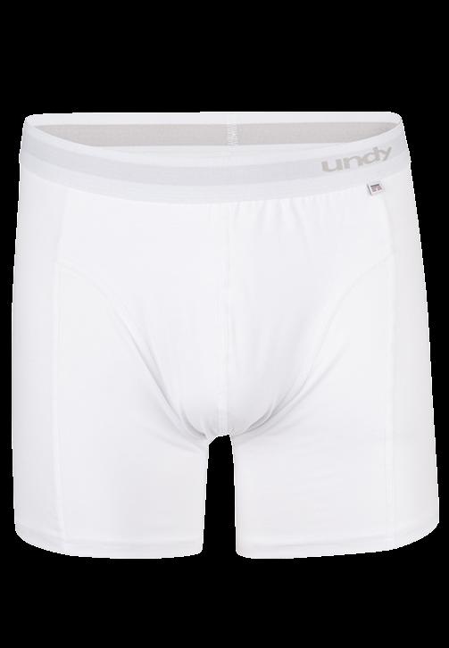 Hvide boxerbriefs
