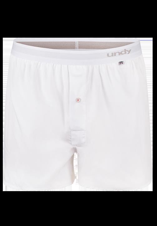 Hvide boxershorts