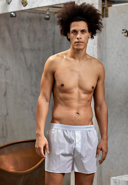 5-pak hvide boxershorts