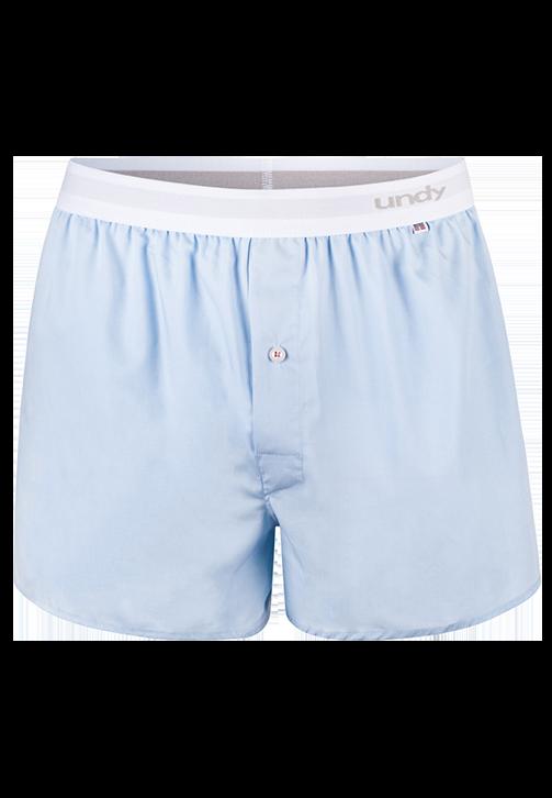 Lyseblå boxershorts