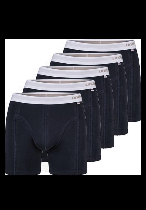 5-pak marineblå boxerbriefs