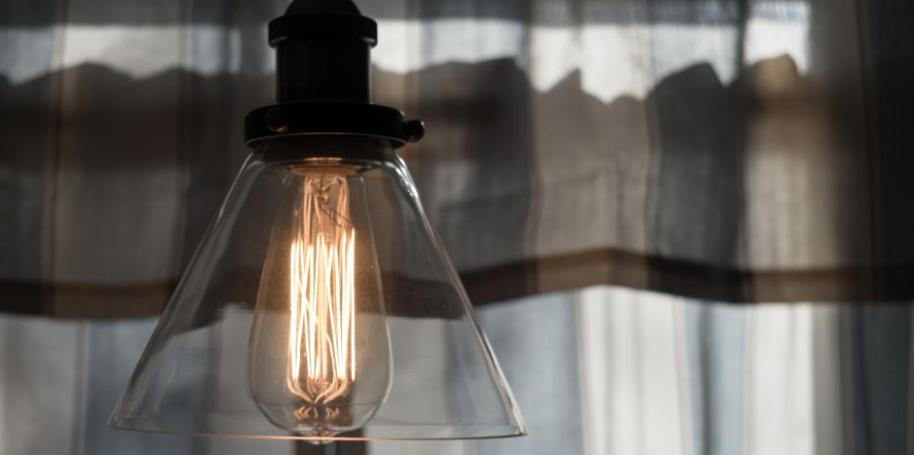 opsætning af lampe