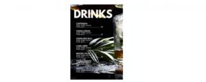 menukort til hjemmebar
