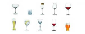 glas til hjemmebar